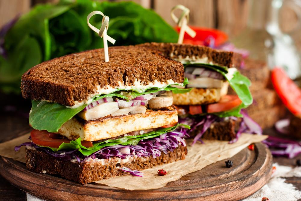 Dicas para sanduíche vegano