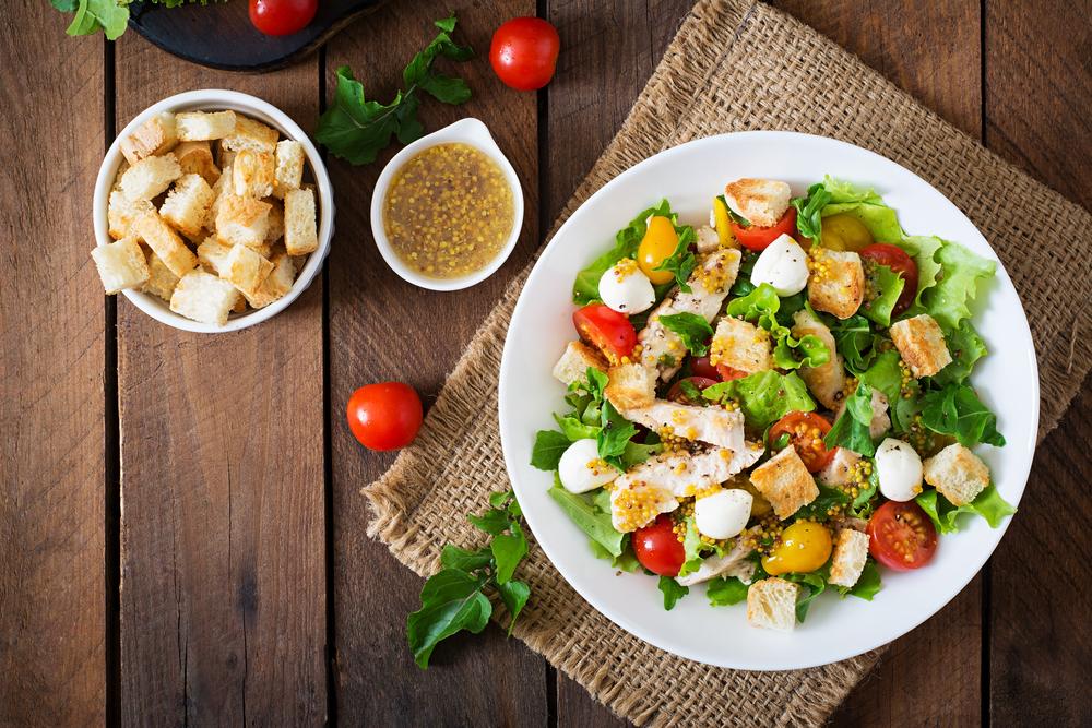 Saladas nutritivas ! Deixe sua refeição mais saudável e leve