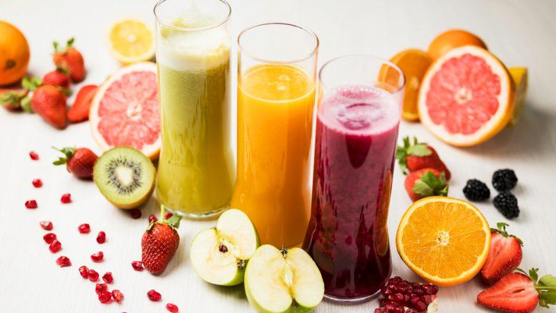 Sucos funcionais e refrescantes