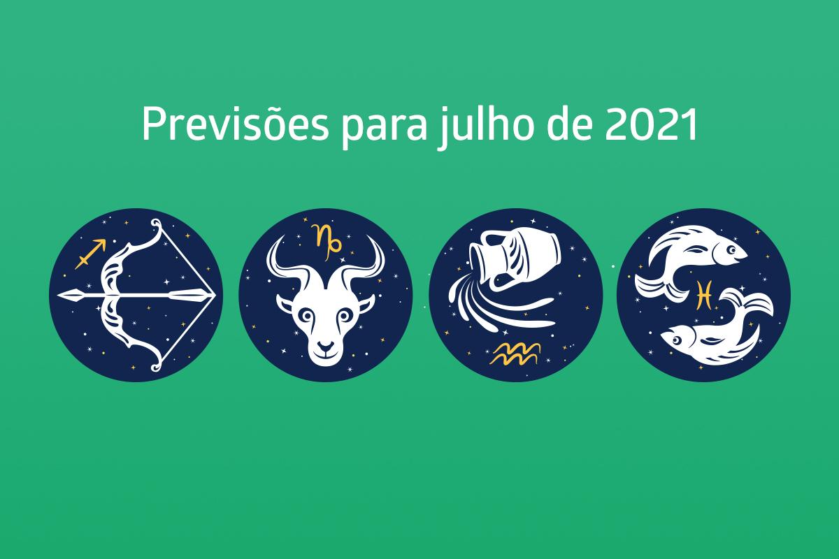 Sagitário, Capricórnio, Aquário e Peixes: previsão completa para julho