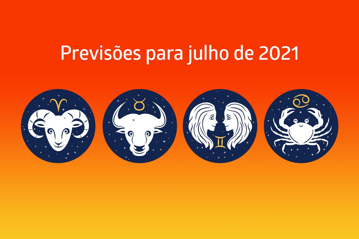 Áries, Touro, Gêmeos e Câncer: previsão completa para julho
