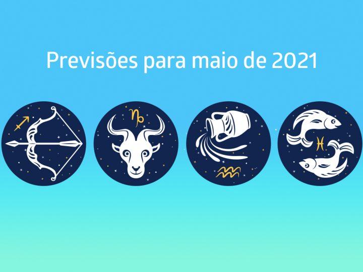 Previsões para maio: Sagitário, Capricórnio, Aquário e Peixes