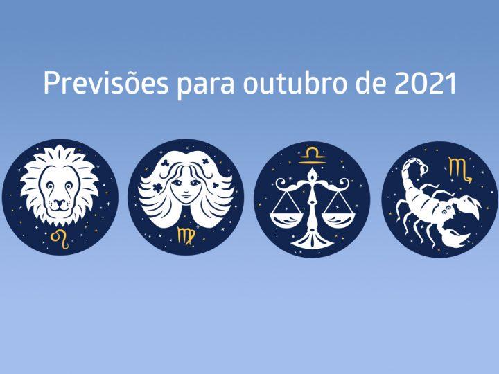 Previsão para outubro: Leão, Virgem, Libra e Escorpião