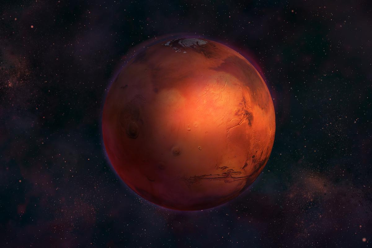 Entrada do planeta Marte no signo de Leão