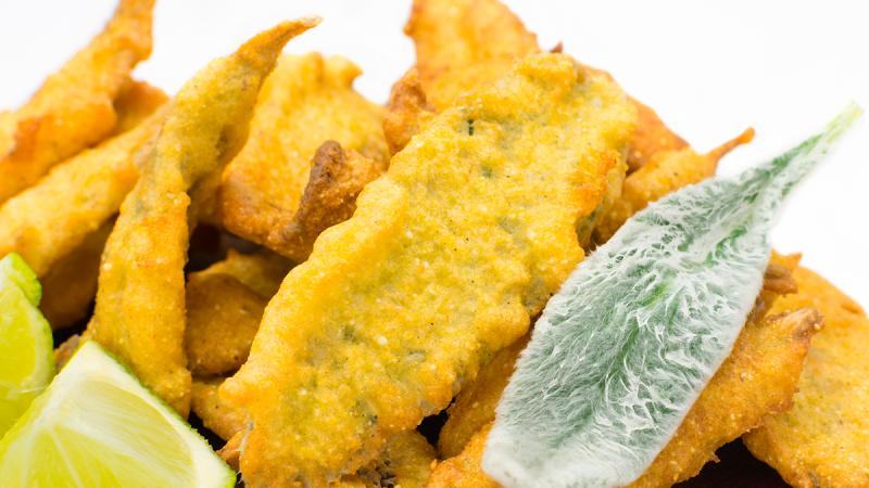 Receitas veganas: veja como fazer o delicioso peixinho frito